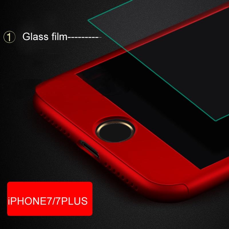 Para iphone 7 PLUS VPOWER Ultra Thin 360 full case + Protector de - Accesorios y repuestos para celulares - foto 4