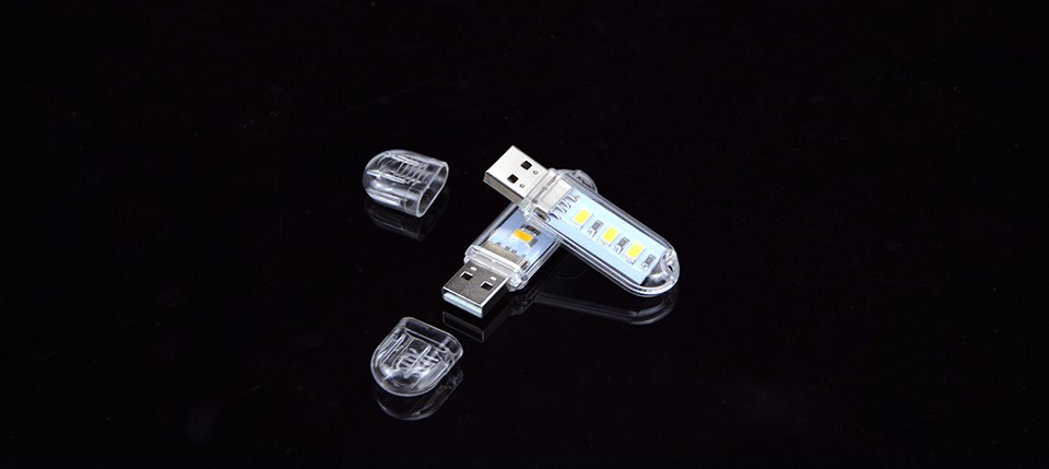 Flexible Portable USB 5V 2W LED Lamp For Computer Notebook Mini USB table lights Protect Eye Lights Gadget Novely light 3