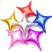 10Pcs / Lot Quad New Balloons 10 Inch 24 Shiny Fashion Birthday Party Wedding Engagement Occasion Decoration
