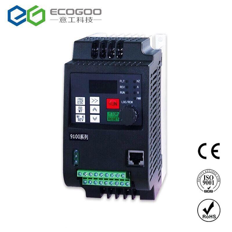 Convertisseur de fréquence 2.2KW/1.5KW convertisseur de fréquence Variable 380 V/220 V VFD convertisseur de fréquence AC/DC pour Machine à graver