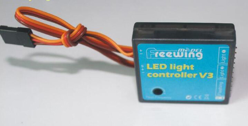 Refit Set Freewing LED Light Controller V3 For FPV RC Airplane V3 F16 F18 Accessories