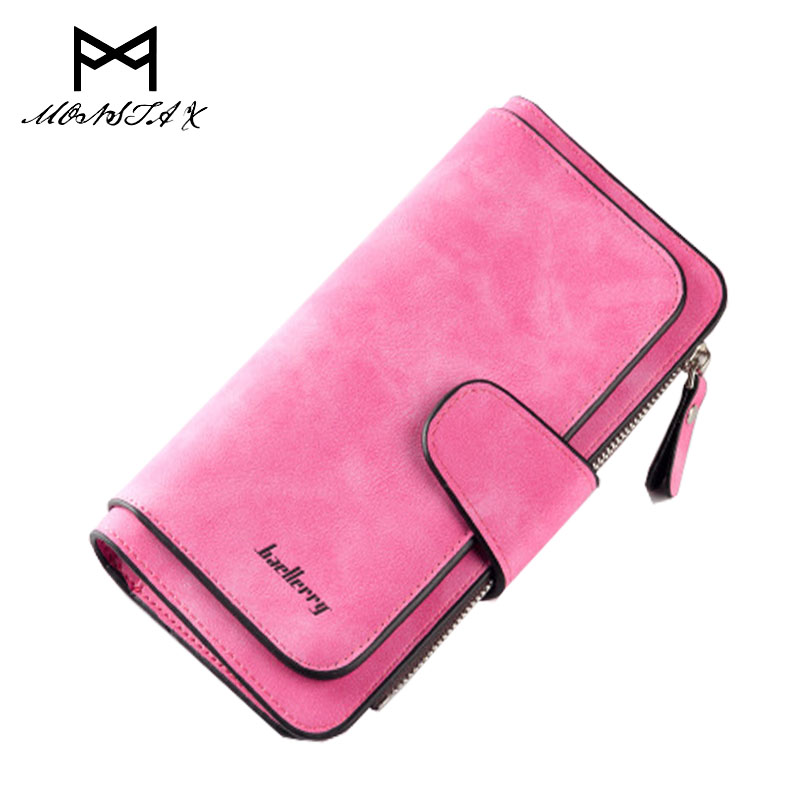 New Leather Women Wallet Design Hasp Solid Color Card Holder Long Female Coin Purse Ladies Clutch Wallet bolsos mujer new europe women pure wallet long creative female card holder casual zip ladies clutch pu leather coin purse id holder