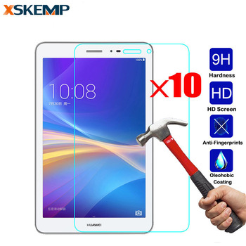 10 pcs 0.3mm Tempered Glass For Huawei Mediapad T1 10 T1-A21w (9.6
