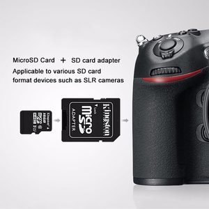 Image 4 - Kingston Micro SD Kart Mini Hafıza Kartı 16GB 32GB 64GB 128GB MicroSDHC UHS I SD/TF okuma Kartı Adaptörü Flash Kart için Smartphone