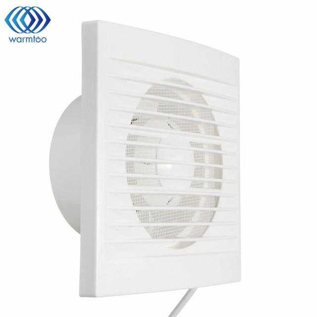Weiß 12 Watt 220 V Hängen Wand Fenster Glas Kleine Ventilator Extractor  Abluftventilatoren Wc Badezimmer Küche