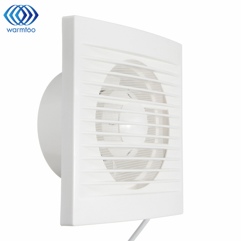 White 12W 220V Hanging Wall Window Glass Small Ventilator Extractor Exhaust Fans Toilet Bathroom Kitchen Fan Hole Size 110x110mm 12w 4inch ventilation exhaust fan bathroom ceiling wall mount blower window wall kitchen toilet bath fan hole size 100x100mm