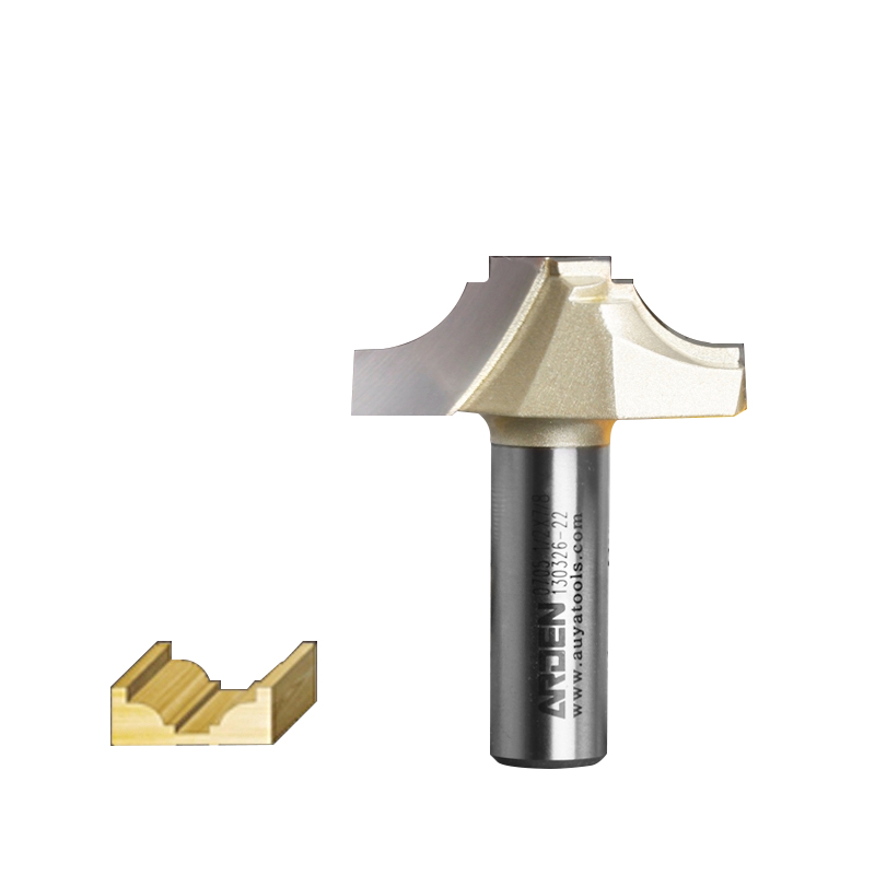 Woodworking Tool Cove Groove Arden Router Bit Flat bottom - 1/2*3/8 -9.52mm