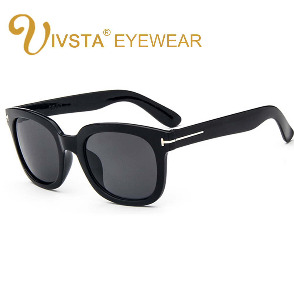 b43917f64d4 IVSTA TF Sunglasses Men Sunglasses Women Oversized Big Large Tom Sunglasses  Male Brand Designer Steam Punk