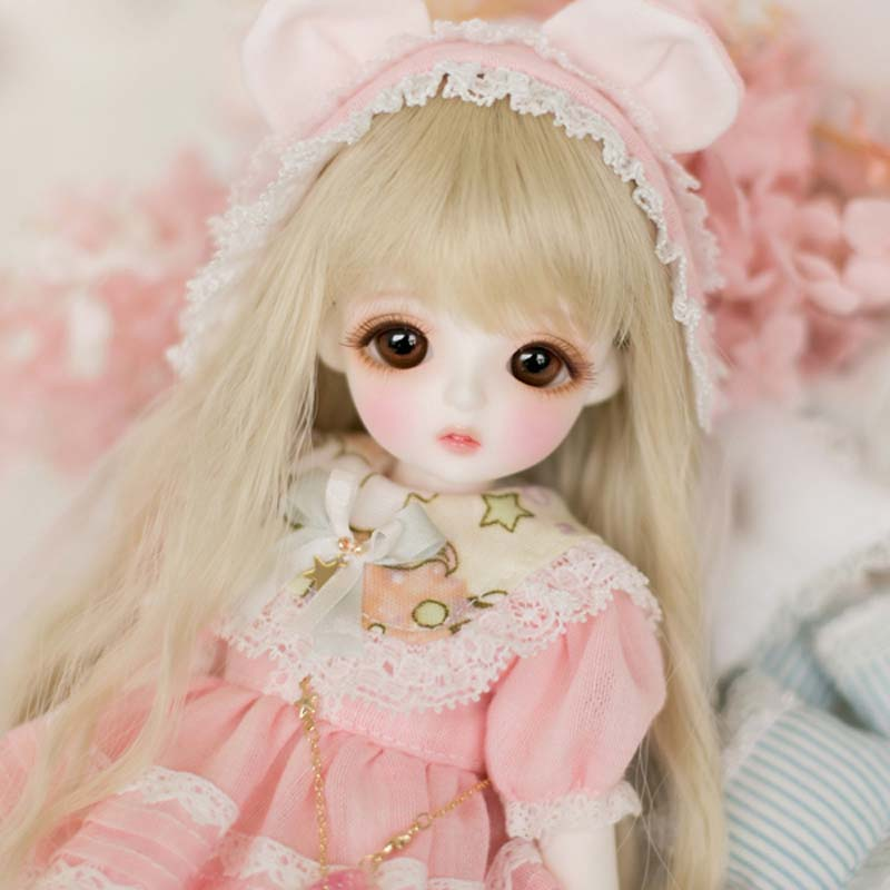 1/6 BJD Doll BJD/SD Cute Miu Joints Doll For Baby Girl Birthday Gift With Free Eyes Free Shipping   1