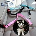 Nueva Espesar Cinturón de Seguridad Del Coche Ajustable Del Perro Del Gato Del Animal Doméstico/de alta calidad tela de nylon collares Para Mascotas de Mantener a su perro refrenado con seguridad