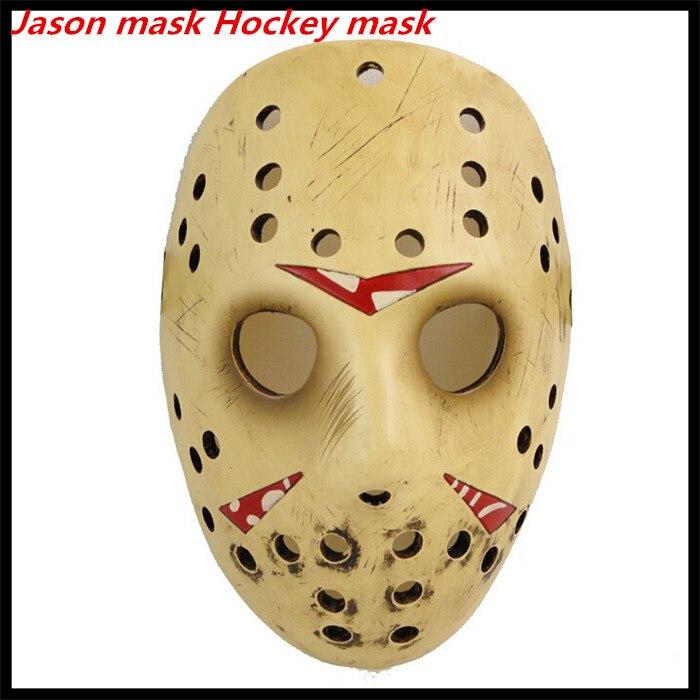 Livraison gratuite films de qualité supérieure Jason Voorhees masque Jason Freddy masque de hockey festival partie tueur Halloween mascarade masque