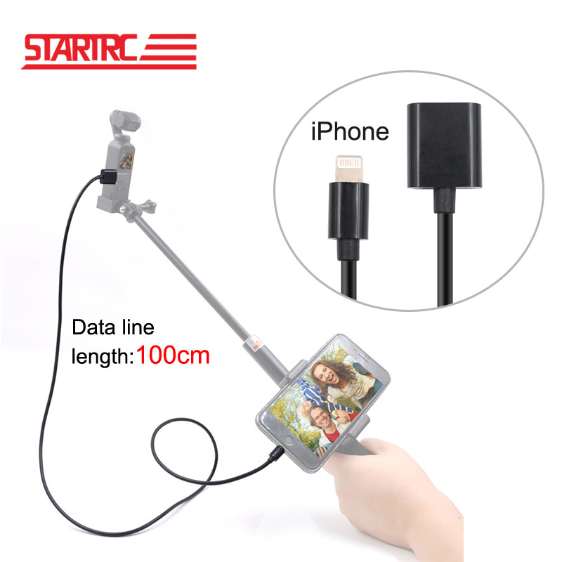 Startrc DJI OSMO POCKET Full Function type C Connect phone extension cable USB charging cable Black data line length 1M -in Gimbal Accessories from Consumer Electronics on Aliexpress.com | Alibaba Group