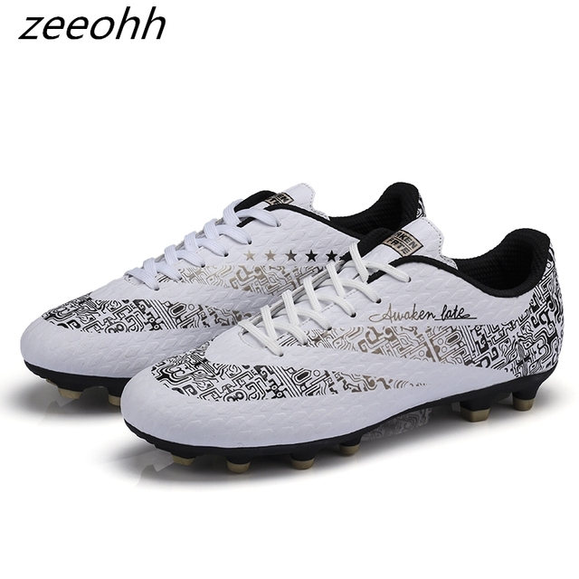 83725c8bffb9 zeeohh New Indoor Futsal Soccer Boots Sneakers Men Cheap Soccer Cleats  Superfly Original Sock Football Shoes with Ankle Boots