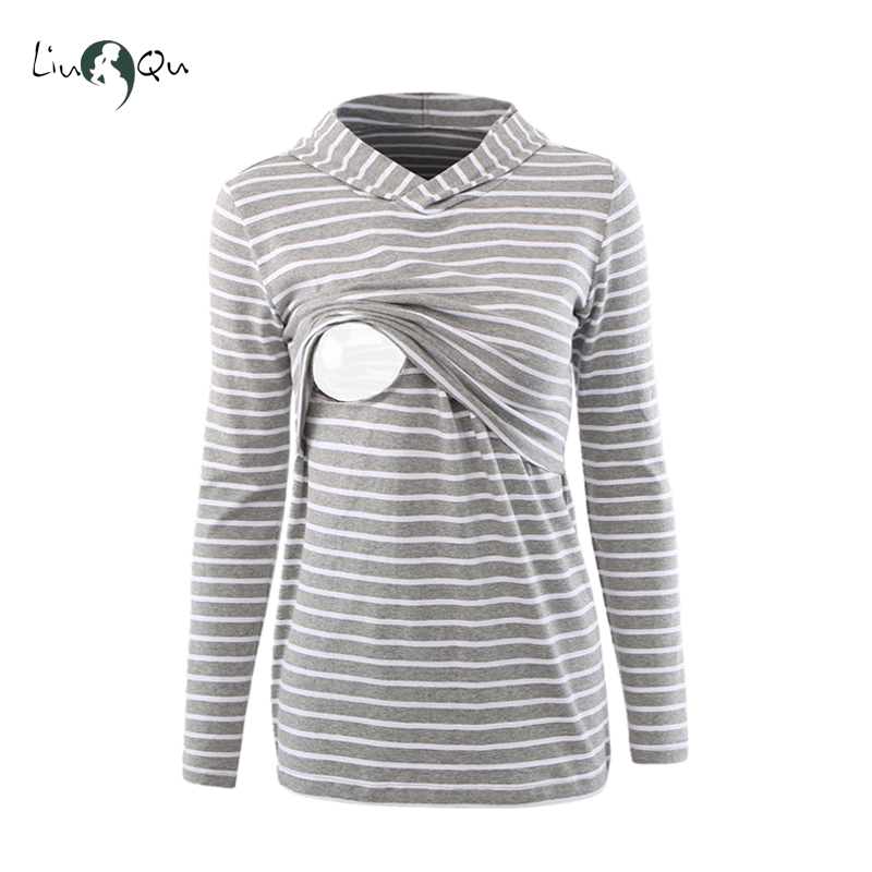 Nursing Hoodies Tops Embarazada Hooded Maternity Clothes Hoodie Breastfeeding Hoodies Maternidad Sweatershirt Femme Enceinte hoodie side zipper hit color hoodies мужская мода спортивный костюм мужская толстовка с белым hoody mens purpose tour hoodie