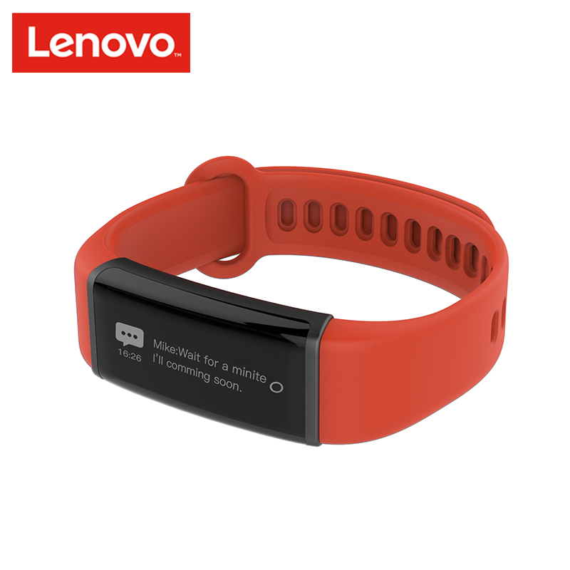 Lenovo HX03 NEW Smart Watch Smart band Heart Rate Moniter Pedometer Fitness Tracker for Android iOS Bluetooth Wristband Tracker in Smart Wristbands from Consumer Electronics