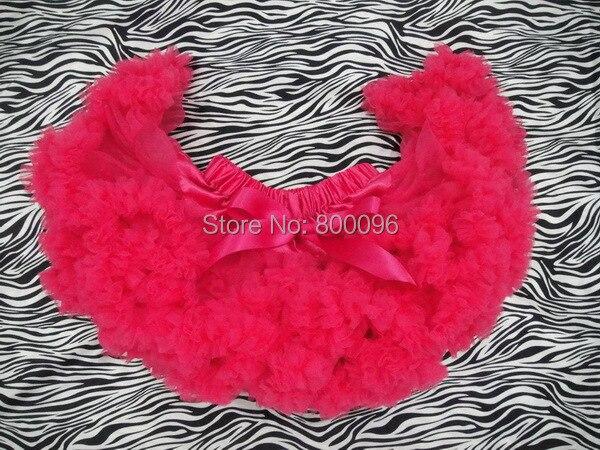 New design hot pink Baby Girl Fluffy Pettiskirt Girls rose color Tutu Skirt Kids pettiskirts PETS-014