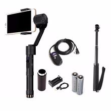 Zhiyun Battery Kit Selfie Stick Remote Controller Smooth 2 3 Axis Brushless Handheld Gimbal Stabilizer for for Samsung iPhone 7
