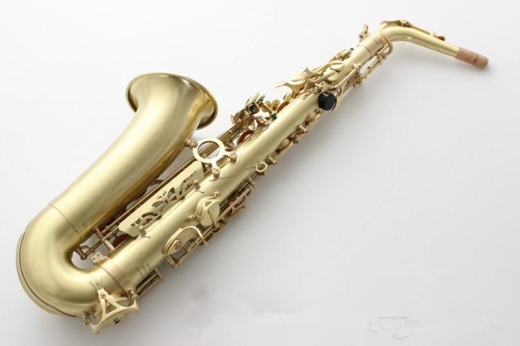 High quality alto sax SAS R54 Eb tune Alto Saxophone instrument / wind instrument Wire drawing Sax Alto Free shipping Saxofone