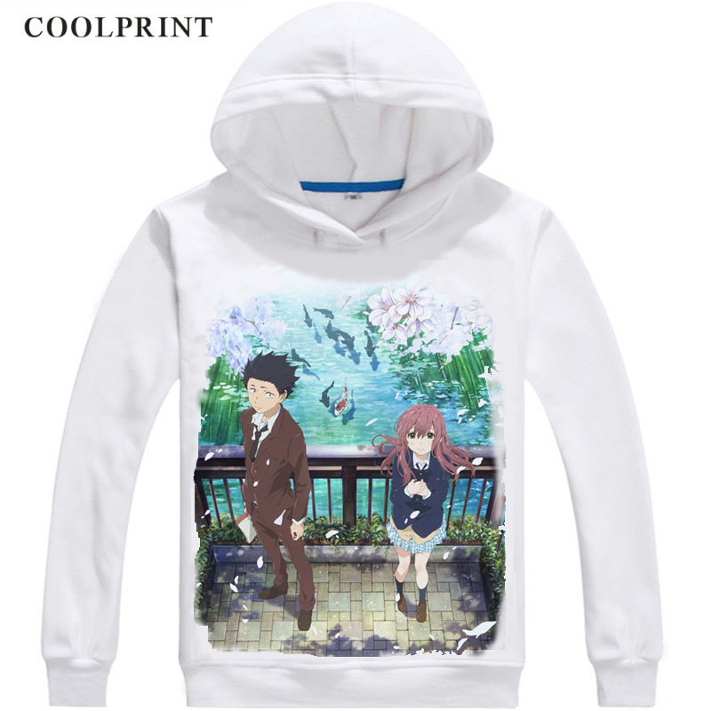 IHHASD Anime Seatshirts Sweaters A Silent Voice Boys Girls Teen Hoodies Hooded