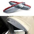 1 Par de Coches de Estilo Espejo Retrovisor Ceja Impermeable Protector De Lámina Flexible de PVC Accesorios Para Skoda Octavia A7 2013 2014 2015
