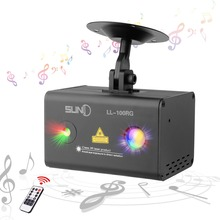 цена на SUNY Mini Party Laser Lights RG Meteor Dots Projector RGB LED Wavy Galaxy Indoor Stage Laser Light For Home Disco Bar (LL-100RG)