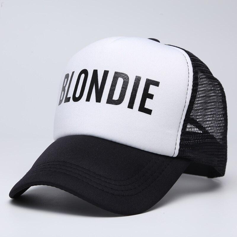 BLONDIE BROWNIE Baseball caps Trucker Mesh cap Women Gift For Girlfriends Her High Quality Caps Bill Hip-Hop Snapback Hat Gorras 1