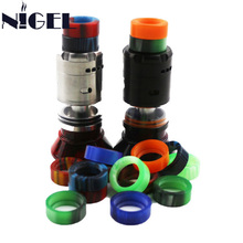 Nigel Epoxy Resin Drip Tip For Ijoy Rdta 5 Tank Vape Electronic Cigarette Drip Wide Bore Atomizer Mouthpiece New