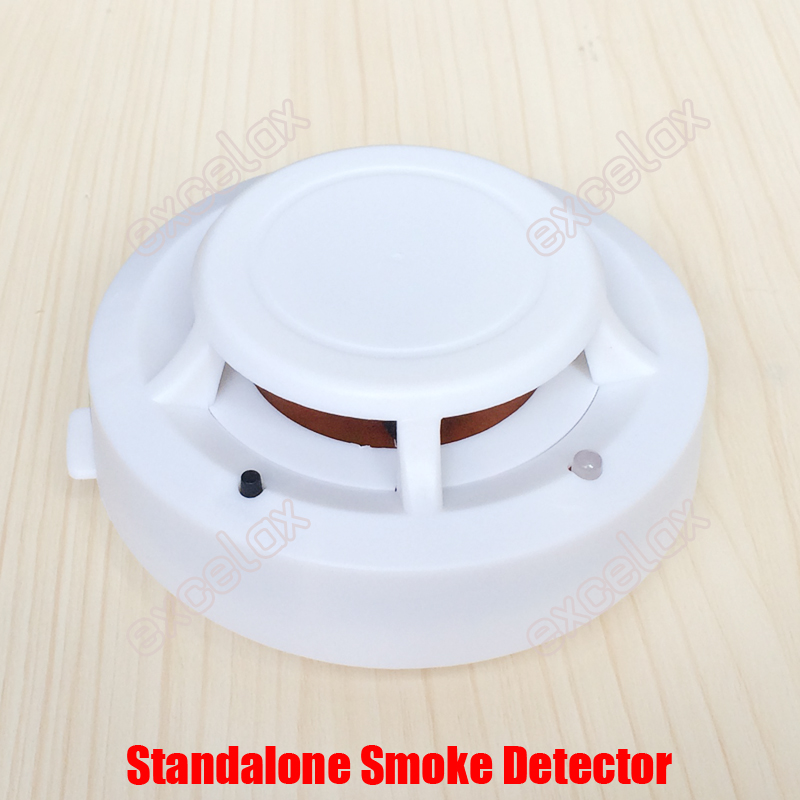 bilder für Unabhängige Eigenständige Feueralarm Zigarette Rauchmelder Startseite Büro Rauch Sensor Alarm Warnen Sicherheit Sirene Sensor w/9 V batterie