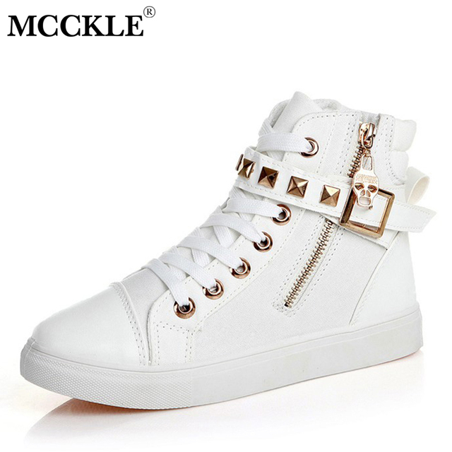 half off 0feaa f6757 MCCKLE-Women-Vulcanized-Shoes-Flat-With-Autumn-Lace -Up-Rivet-Sneakers-Casual-Canvas-Flats-Hook-Loop.jpg 640x640.jpg