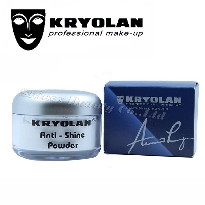 ФОТО Kryolan cosmetics Loose Powder Oil Control Make-up Powder Anti-shine makup Powder 30g Super Oil control and Oil-absorbing