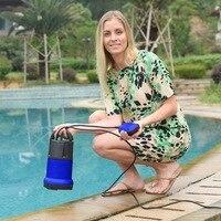 Homdox Durable Submersible Water Pump 110V 1100W 3400GPH Clean Dirty Pool Flood Drain Garden Irrigation US Plug #30 25