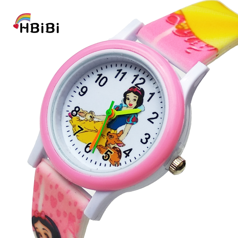 Newest Products Beautiful Princess Kids Watches For Baby Girl Clock Gift Fashion Casual Children Waterproof Quartz Wrist Watch
