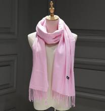 2016 weiblich Männlich Kanada Wolle Cashmere Schal Pashmina Quasten Frauen Wrap Warm Luxus Marke Schal Unisex Männer SCHAL(China)