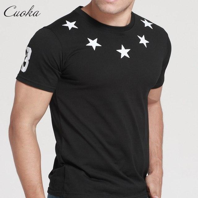 Cuoka 2017 marca hba hip hop pyrex 88 estrela de manga curta t-shirt casual tops & t swag camiseta kpop homens clothing atacado