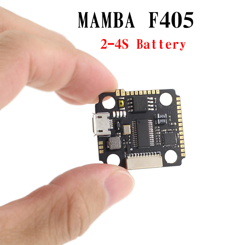 <font><b>MAMBA</b></font> <font><b>F405</b></font> <font><b>Mini</b></font> F4 8K Flight Controller Integrated Betaflight OSD 5V 1A BEC 2-4S for DIY FPV Racing Drone Quadcopter image