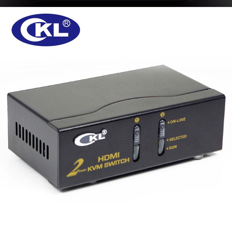 CKL 2 Port USB HDMI KVM Switch PC Monitor Keyboard Mouse 2 in 1 out Switcher ckl 2 port usb hdmi kvm switch pc monitor keyboard mouse 2 in 1  at fashall.co