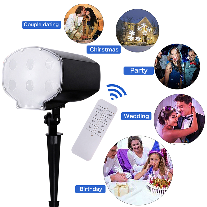 2018 Populaire Projector LED Business Podium Licht 9w Behuizing Dancing Party oudtoor Waterdicht IP65 цены онлайн