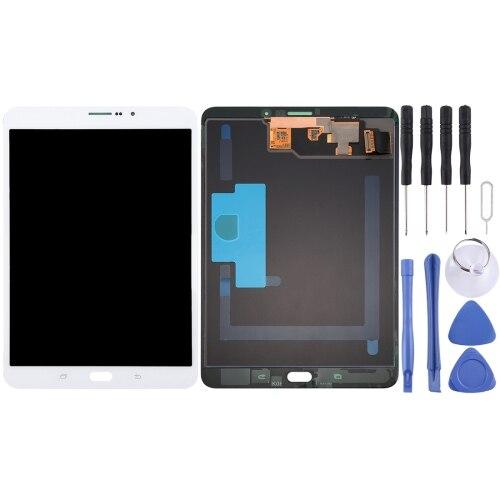 Ecran LCD et numériseur montage complet pour Galaxy Tab S2 8.0 LTE/T715/T719 (blanc)