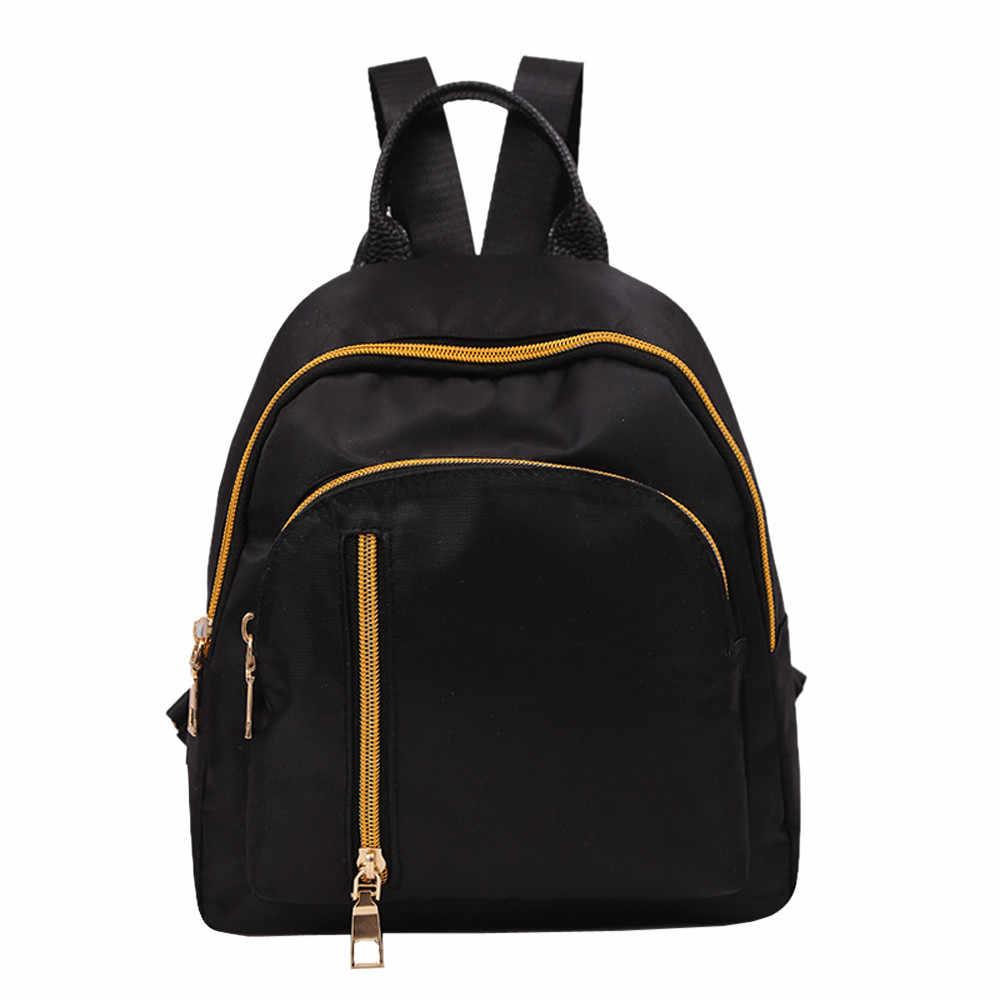 NOVO 2019 Mulheres Bagpack Menina Oxford Pano Mochila Estudante Mochila Saco de Viagem Escola Mochila mochila feminina Dropshipping