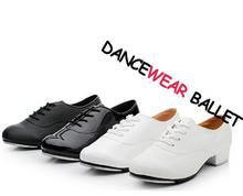 Tap Shoes For Men And Women Lace Up Size EU34-EU44 Jazz Shoe Excellent Free Shipping