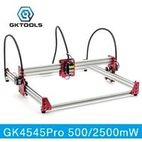 GKTOOLS All Metal 45 45cm 500mW 2500mW Wood Mini CNC Laser Engraver Cutter Engraving DIY Machine