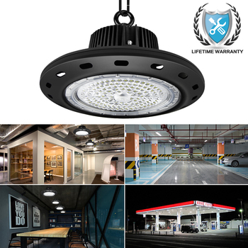Led High Bay Light Industrial Aluminum Bulbs Ac Industriele Verlichting Pipes Lighting Warehouses Powered Leds 200w Lamps