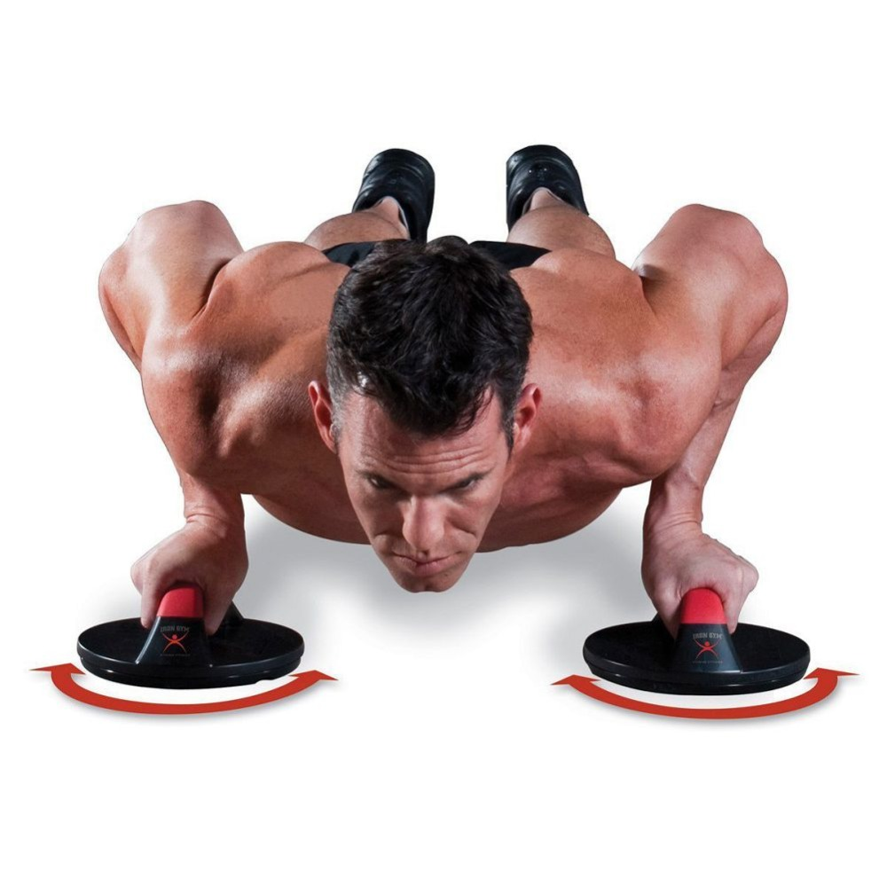 Rolling Pushups, Stands Gym Exercise, Chest Arm Body Building 1