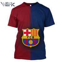 the latest fd271 d2b44 WSFK new products for sale Barcelona jersey sportswear T-shirt half-sleeved  running fans football uniforms unisex