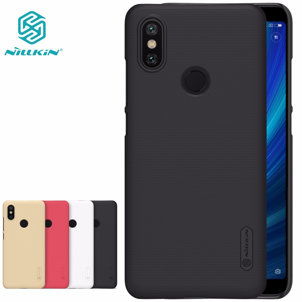 Case For Xiaomi Mi 6X 5X A1 A2 NILLKIN Super Frosted Shield hard back cover for xiaomi mi6x mia2 gift screen protector