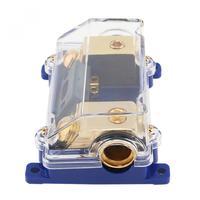 Durable 1 In 1 Modi Fuori 60A Car Audio Potenza Portafusibile Scatola Dei Fusibili per La Maggior Parte Delle Automobili