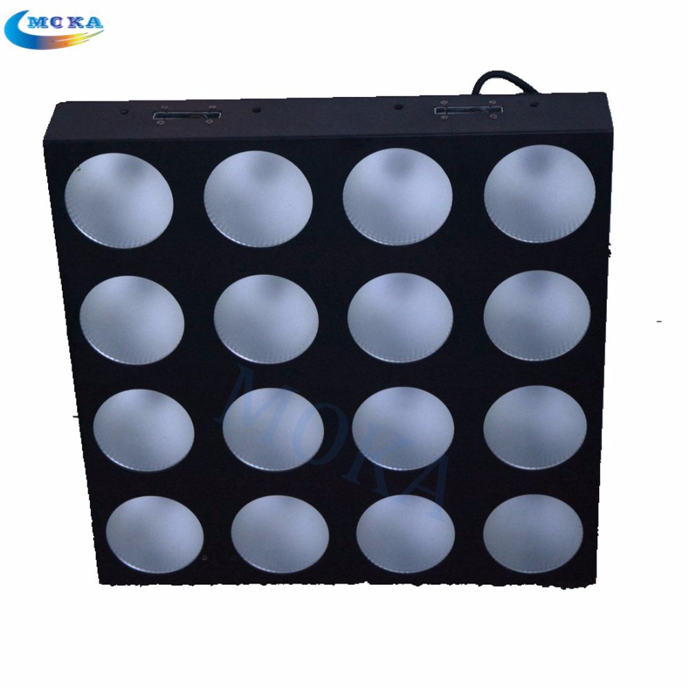 Flight Case LED Matrix Light DMX RGB Effect LED Disco Stage Matrix Lighting 6/24/48/96 channels 4pcs/lot Fast Shipping
