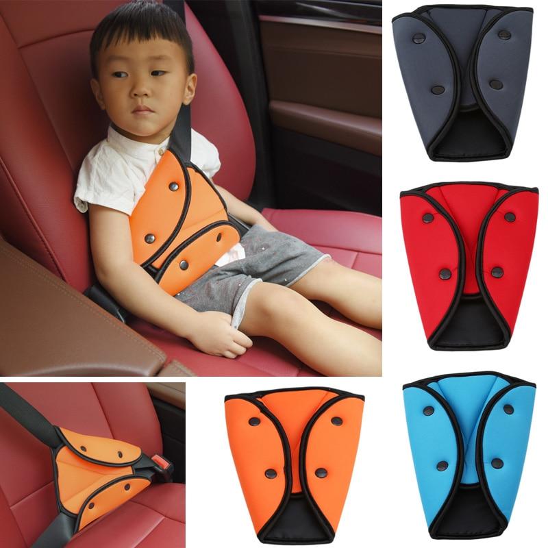 Car Safe Fit Seat Belt Adjust Device Triangle Baby Child Protection Stroller Baby Safety Sturdy Adjuster Car Safety Belt