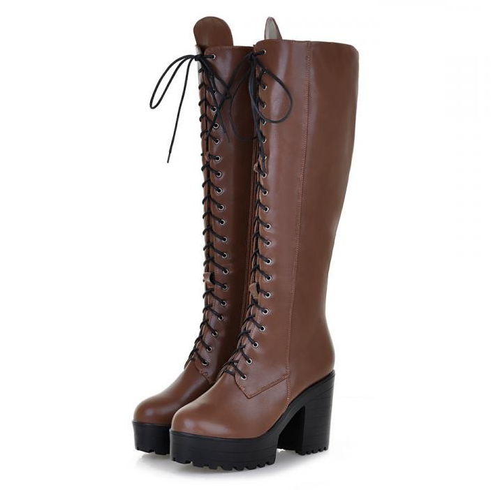 Navy Blue Riding Boots Promotion-Shop for Promotional Navy Blue ...