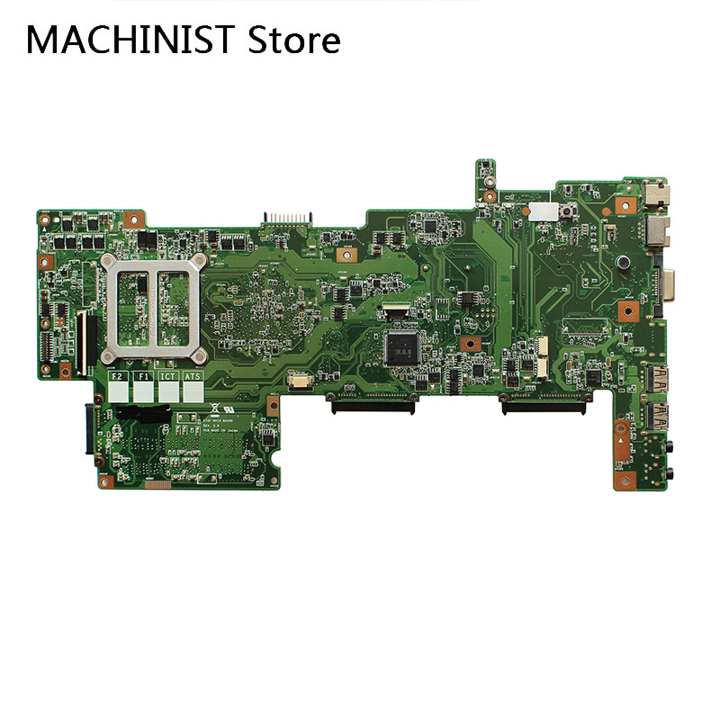 Original For ASUS X72F A72F K72F REV 2.0 laptop notebook motherboard HM55 PGA-989 DDR3 1
